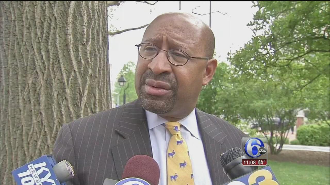 VIDEO: Nutter has harsh words for mayoral candidates
