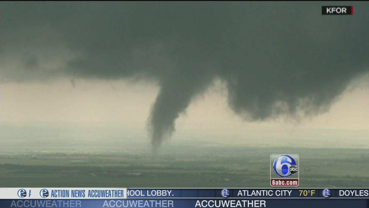 VIDEO: Oklahoma tornadoes