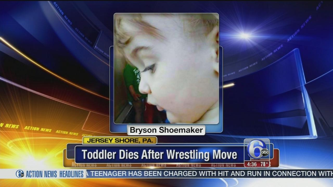 VIDEO: Toddler dies after wrestling move