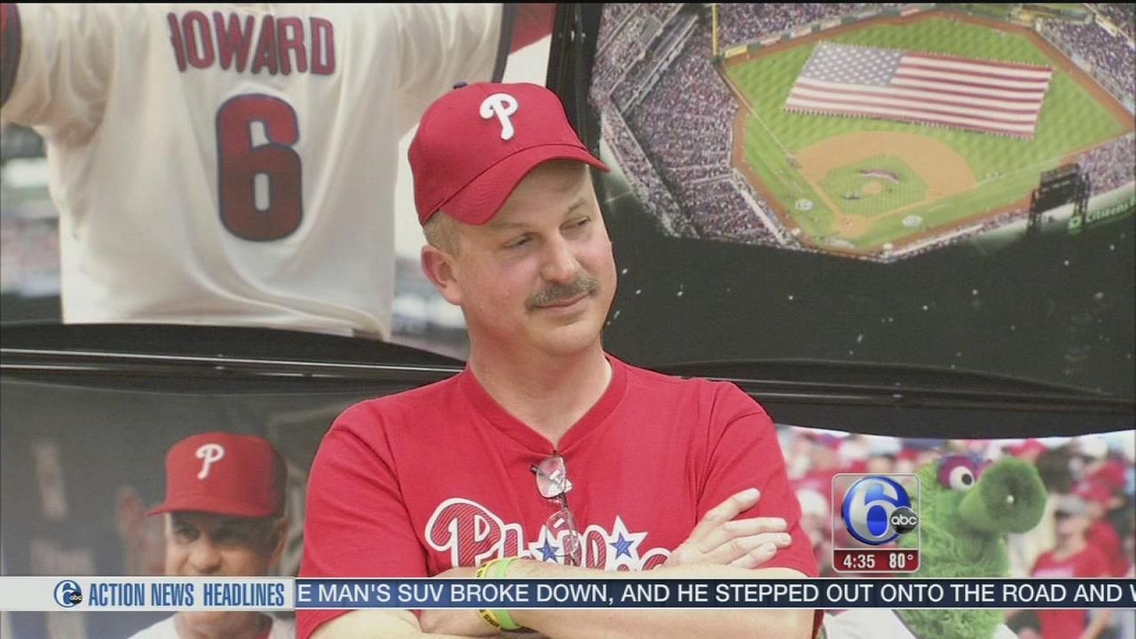 VIDEO: NJ educator honored as Phillies Teacher All-Star