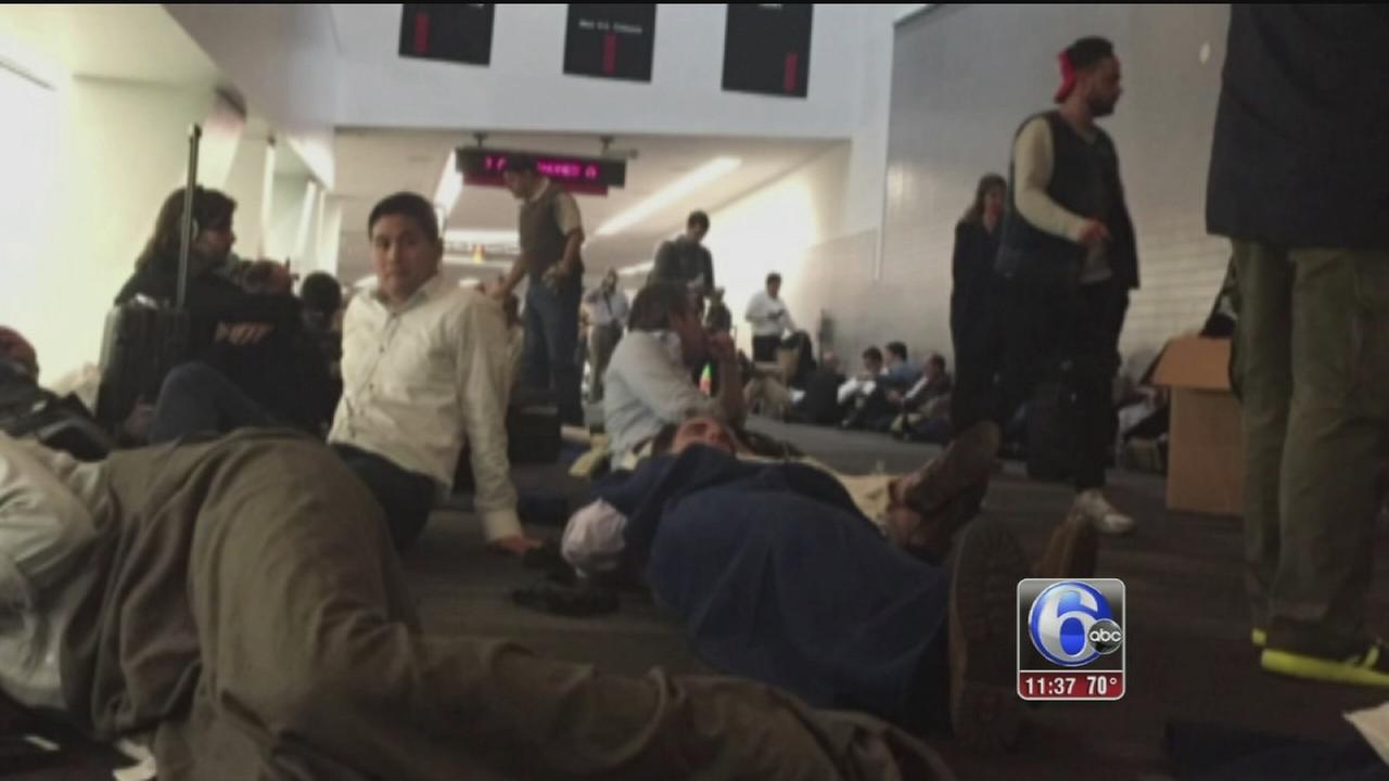 VIDEO: British Airways flight diverted to Phila.