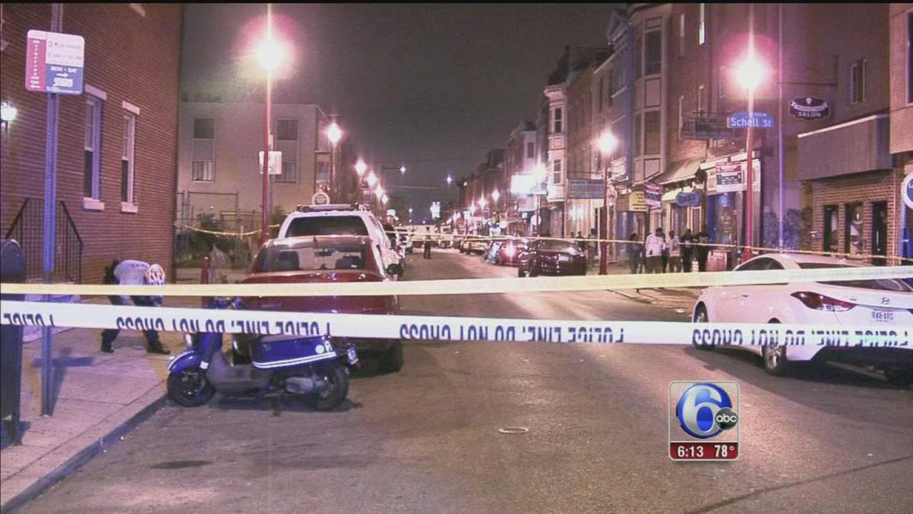 VIDEO: 3 teens wounded in shootings near South Street