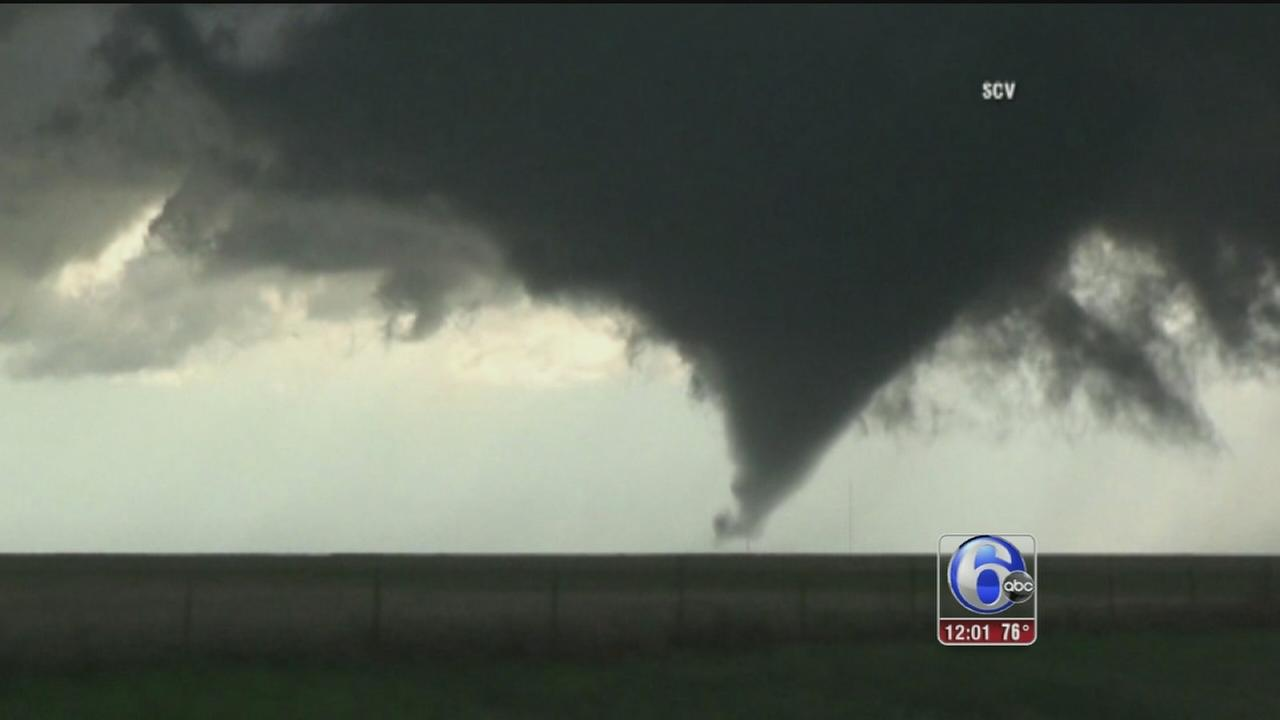 VIDEO: Texas twisters