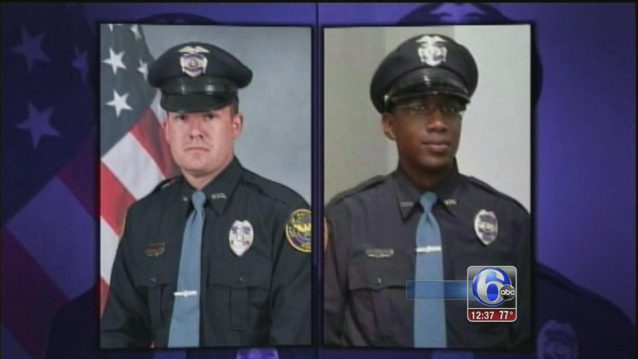 VIDEO: Miss. mourns 2 slain officers