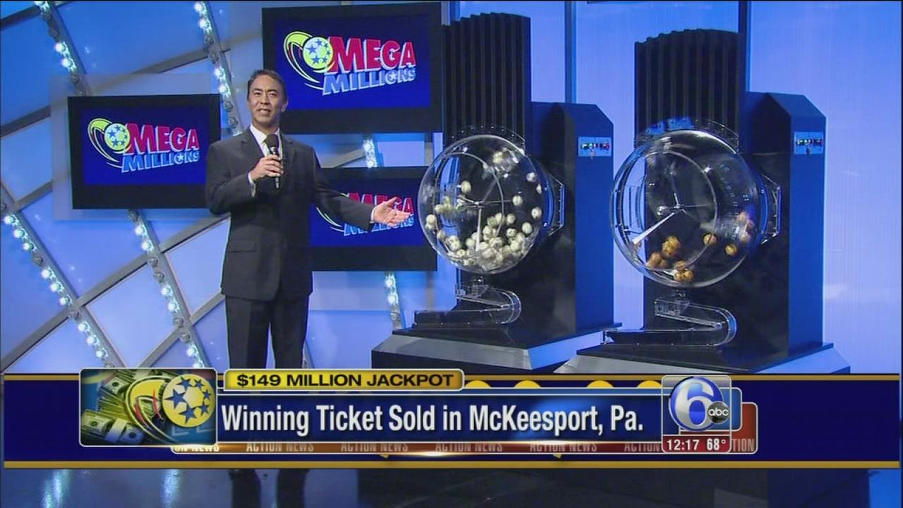 VIDEO: Winning Mega Millions ticket sold in Pa.