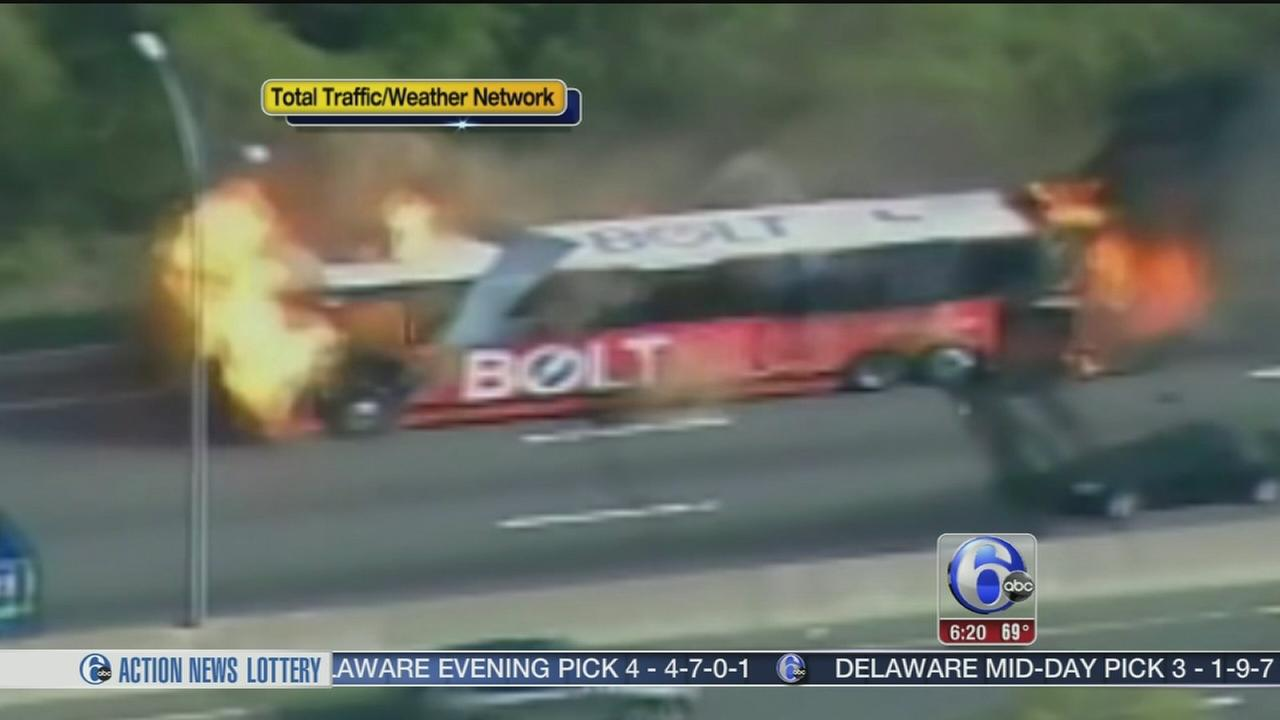Military Humvee Crashes On N J Turnpike In Chesterfield