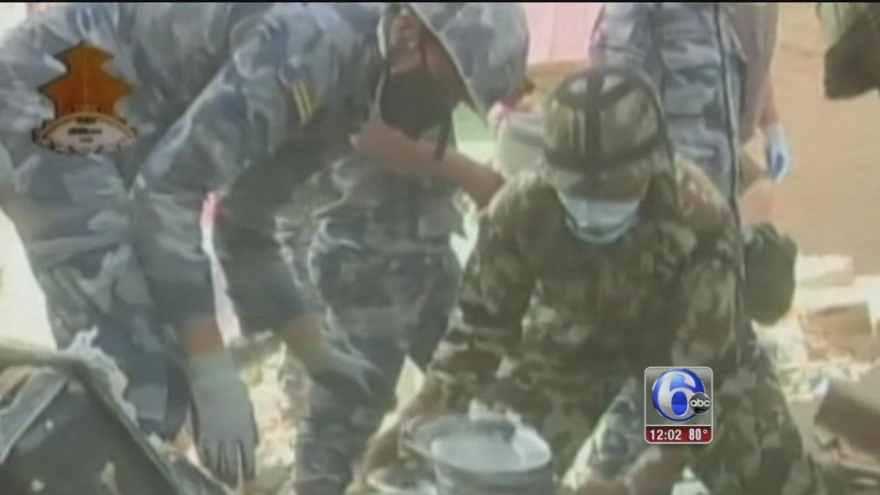 VIDEO: Nepal earthquake latest