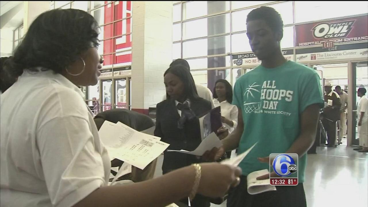 VIDEO: Jobs up for grabs for at PHL