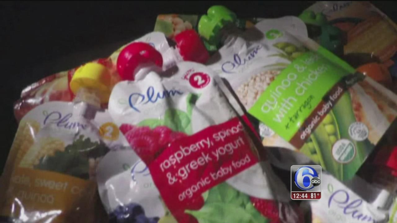VIDEO: Baby food pouches deceptive marketing
