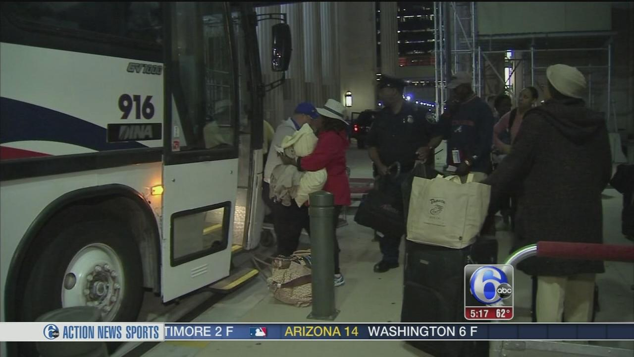 VIDEO: Annie McCormick reports from 30th Street Station