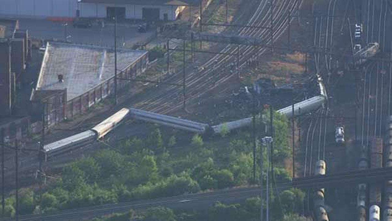 PHOTOS: Amtrak train derailment in Port Richmond