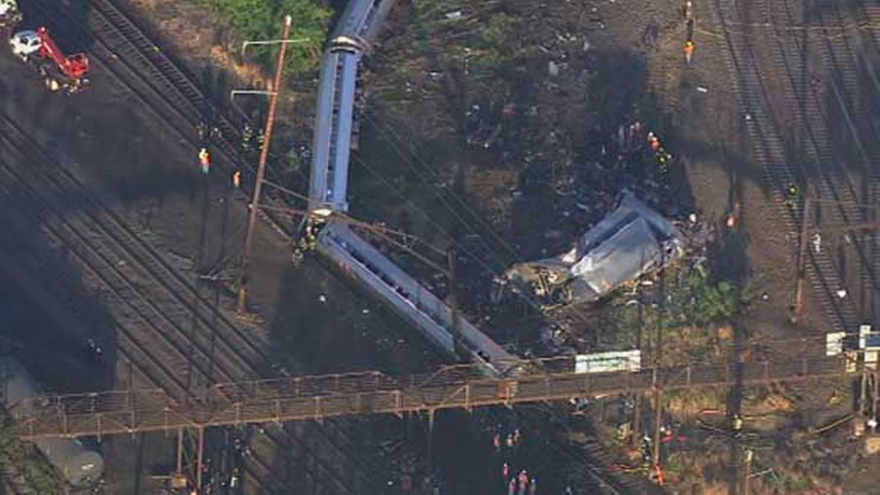 PHOTOS: Amtrak train derailment in Port Richmond