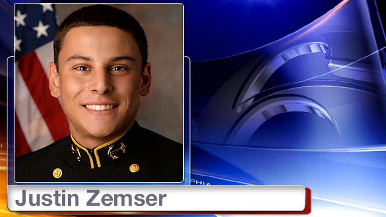 U,S. naval Academy Midshipman Justin Zemser was among the people killed in a deadly Amtrak train derailment in Philadelphia on Tuesday, May 12, 2015.