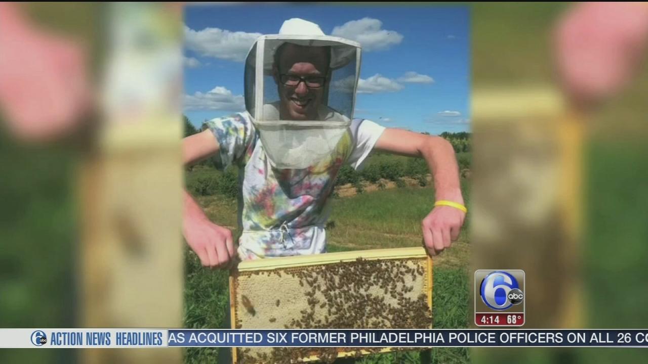 VIDEO: Mt. Laurel student is the bees knees