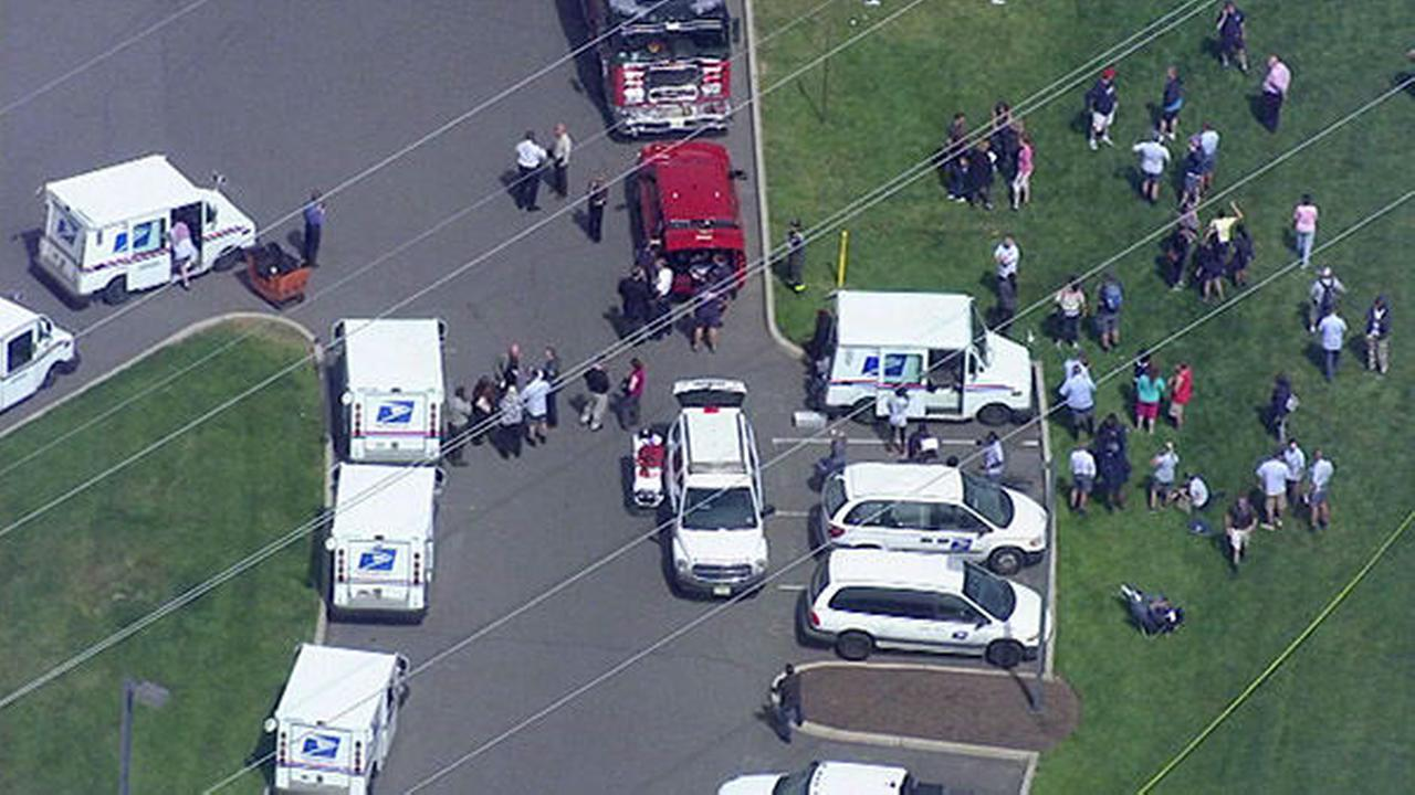 PHOTOS: Hazmat situation at NJ post office