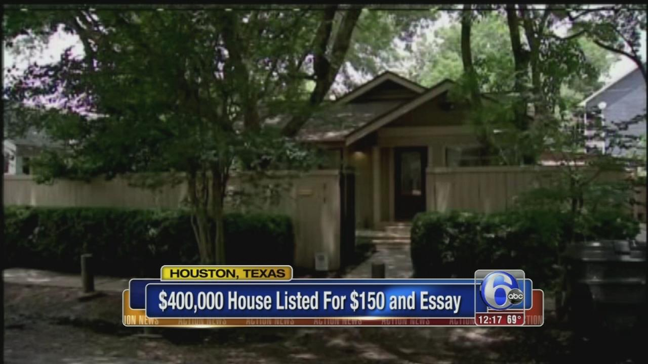 VIDEO: Houston house listed for $150 and an essay