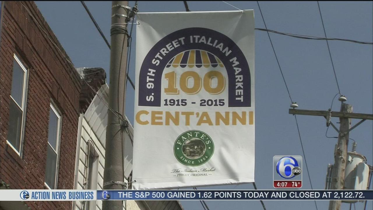 VIDEO: Italian market 100th anniversary