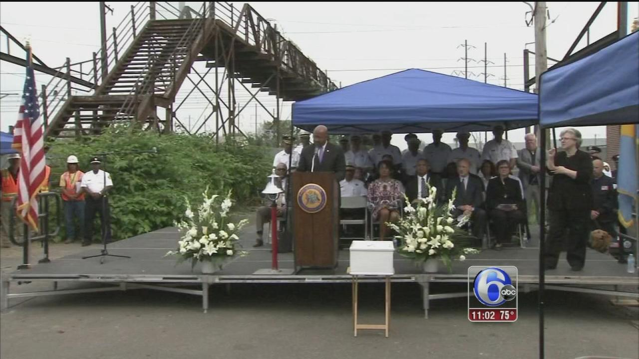 VIDEO: Moment of reflection remembers Amtrak 188 victims