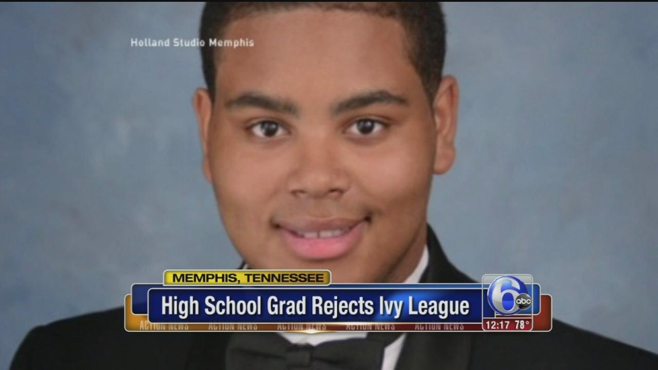 VIDEO: High school grad rejects Ivy League acceptances