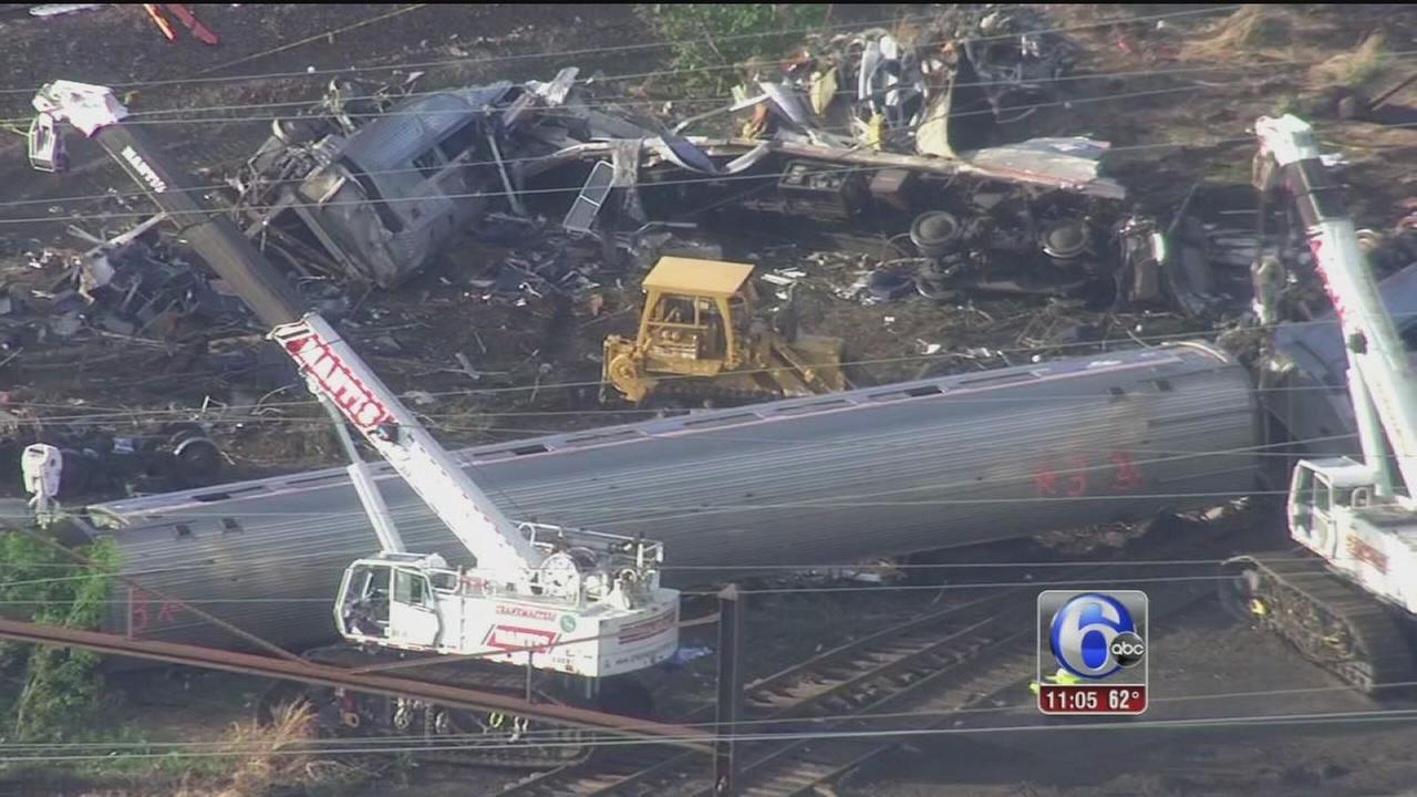 VIDEO: Investigation continues in Amtrak crash