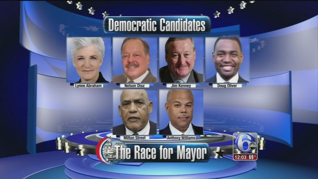 VIDEO: Primary day in Pa. with eyes on Philadelphia mayoral race