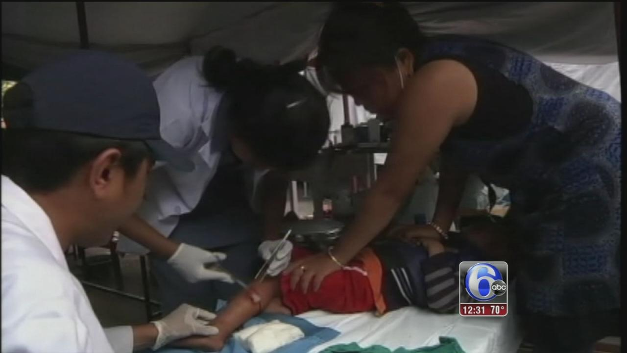 VIDEO: Local relief team returns from Nepal