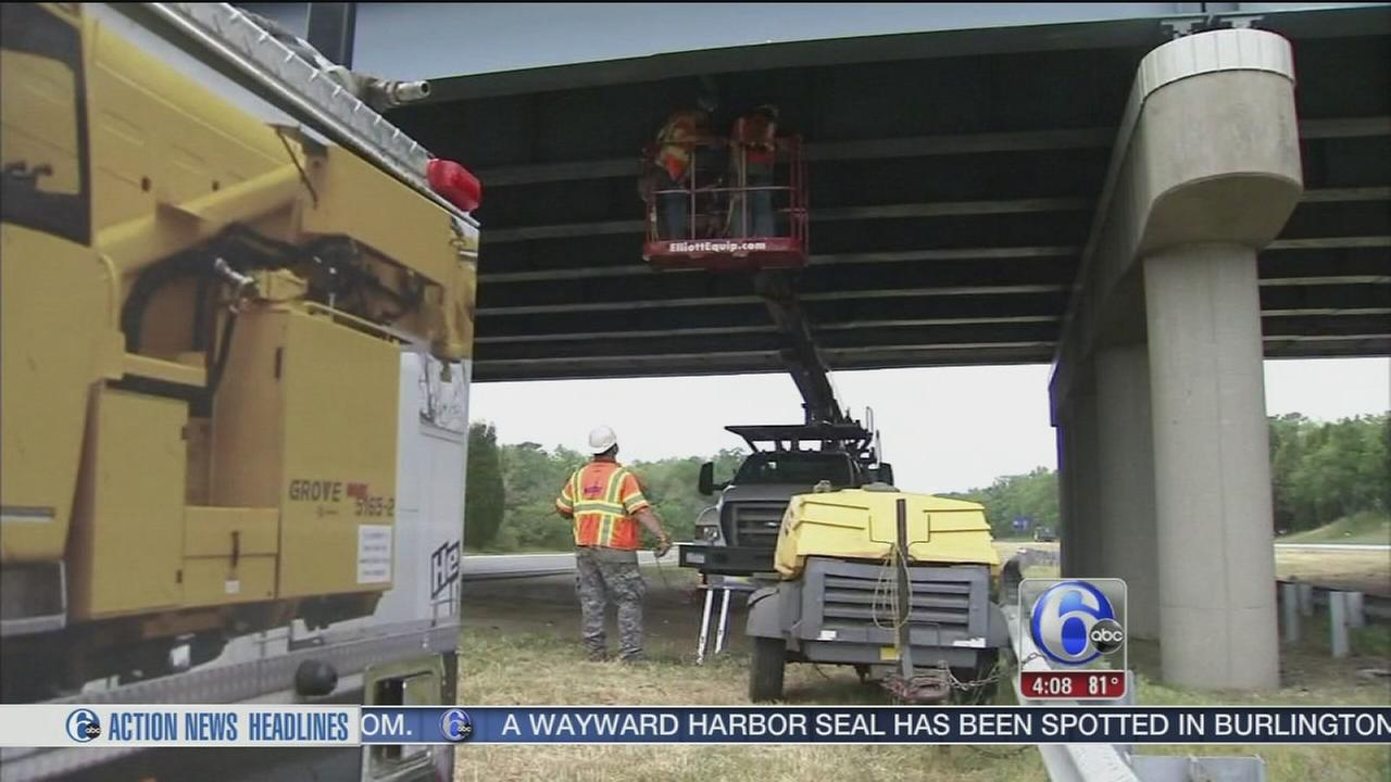 VIDEO: Bridge repairs could slow one route to NJ shore