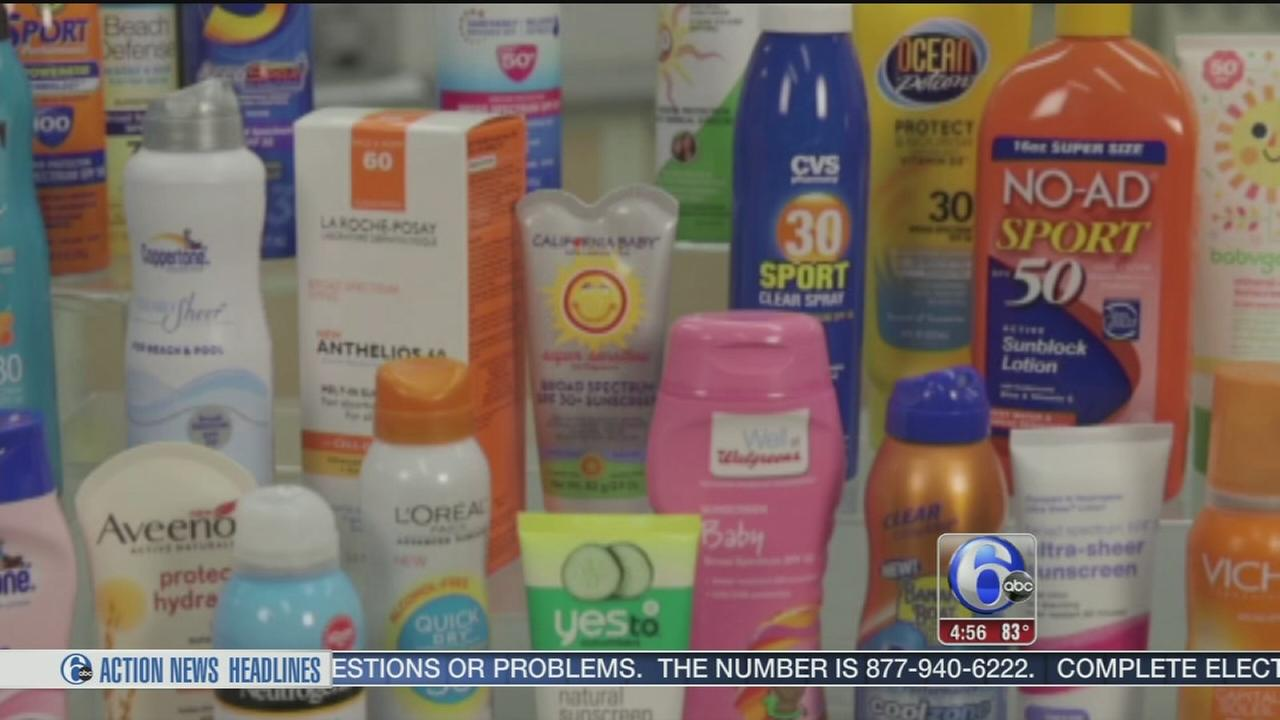 VIDEO: Consumer Reports sunscreen tests