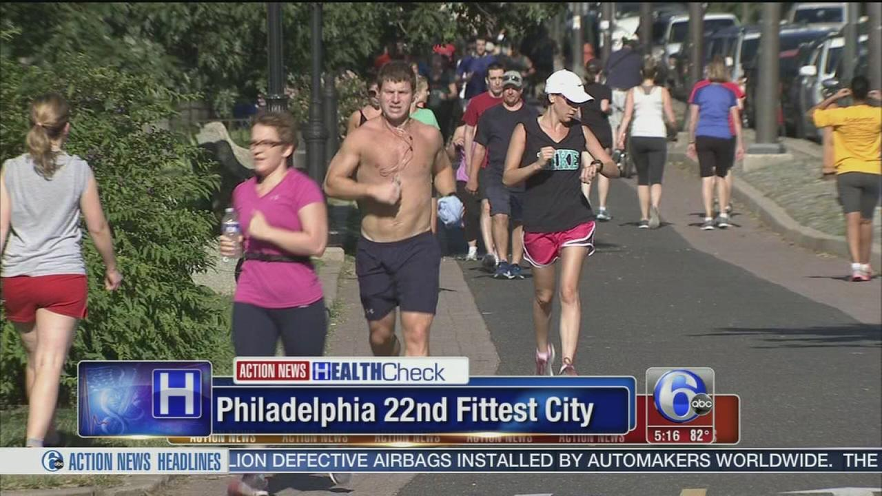 VIDEO: Philly named 22nd fittest city