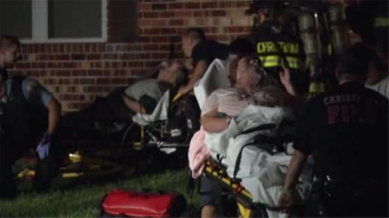 Family sickened by CO fumes in Delaware
