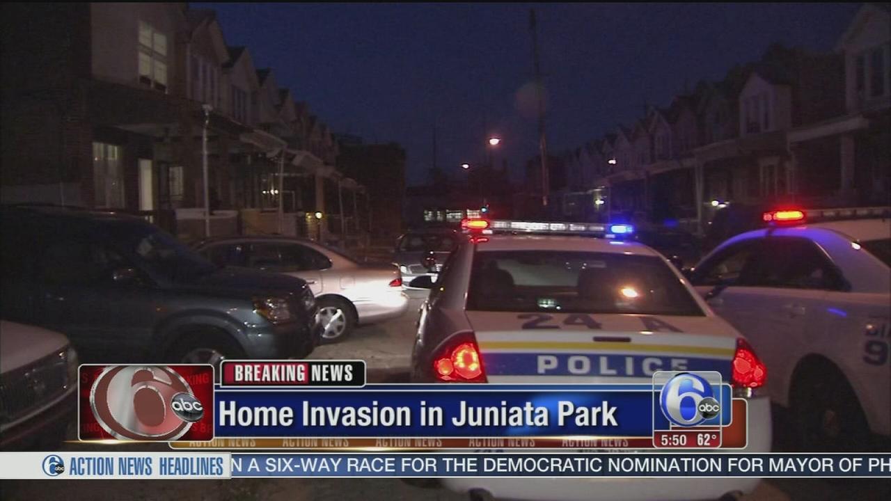 VIDEO: Home invasion in Juniata Park