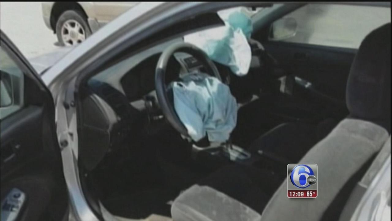 VIDEO: Takata airbag recall