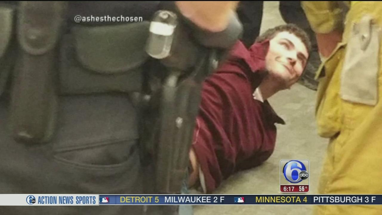 VIDEO: Man tased after rushing TSA agents