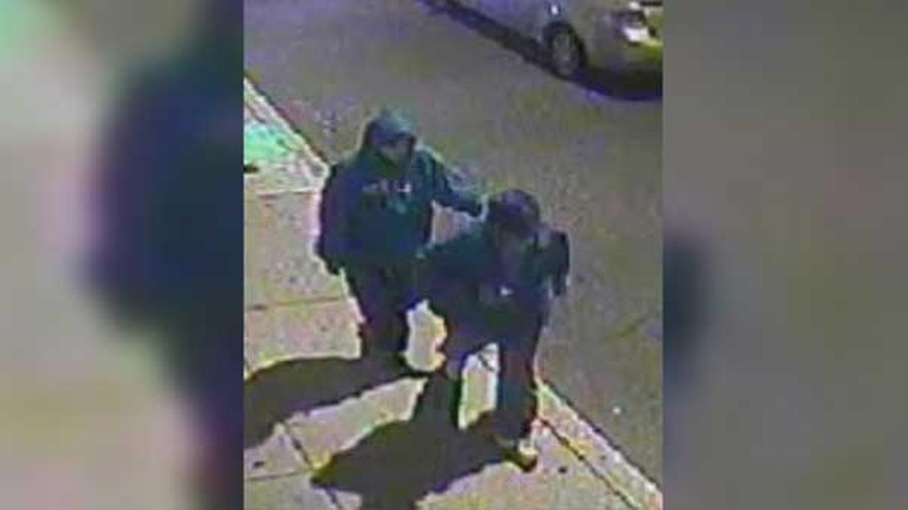 Police are looking for two suspects who broke into a South Philadelphia home.