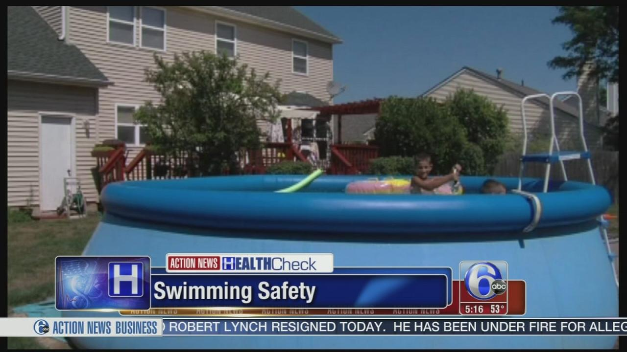 VIDEO: Keeping children safe at the beach or by the pool