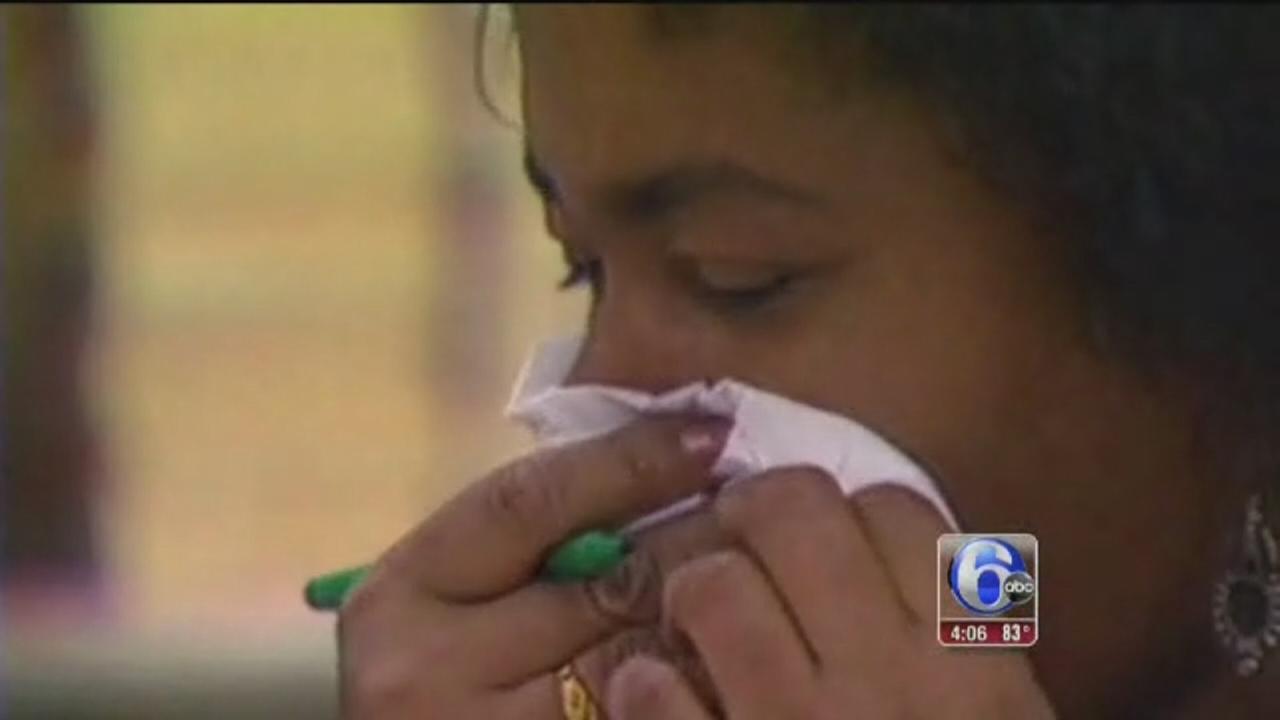 VIDEO: Battling pollen problems