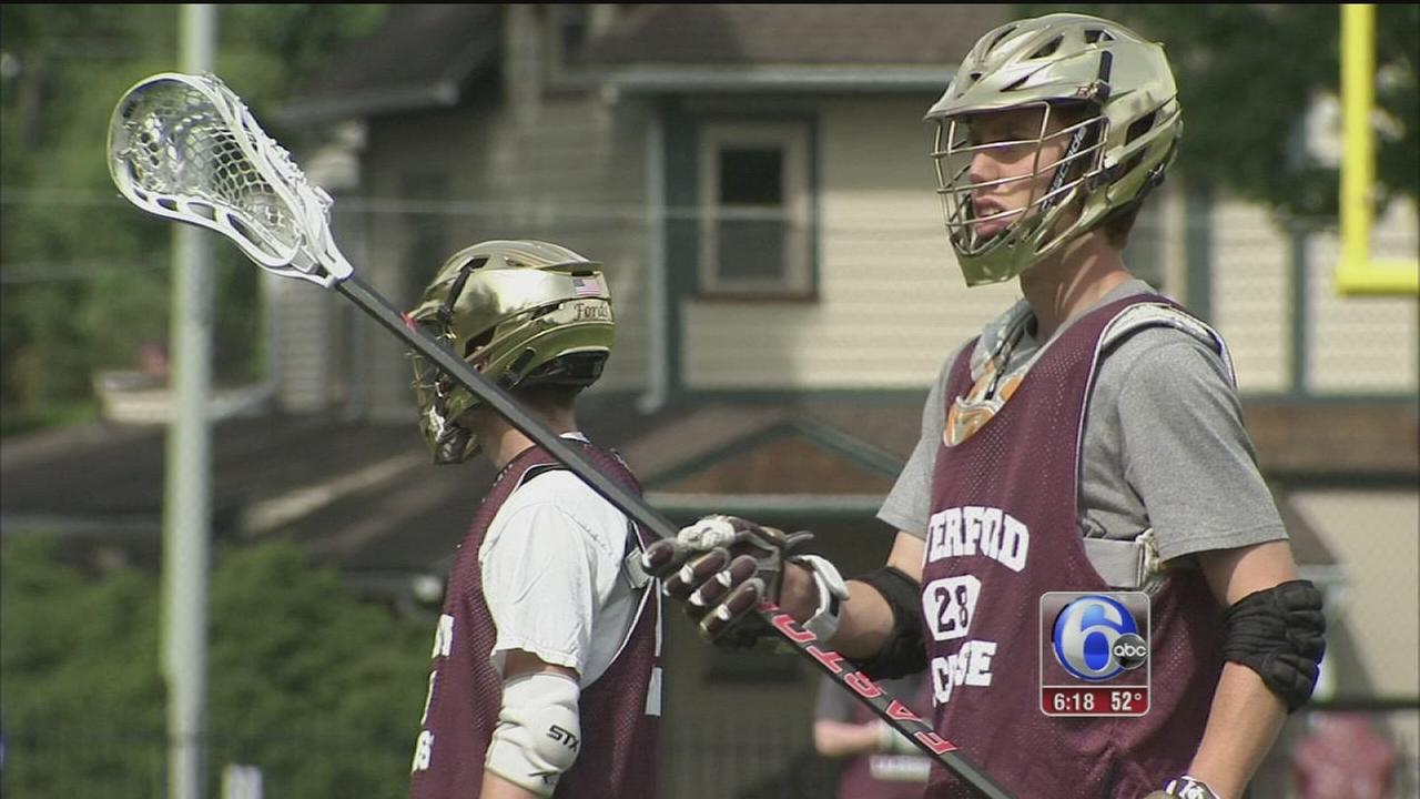 VIDEO: Haverford School lacrosse ranked No. 1