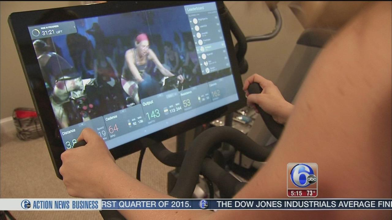 VIDEO: Go to a spinning class right in your home