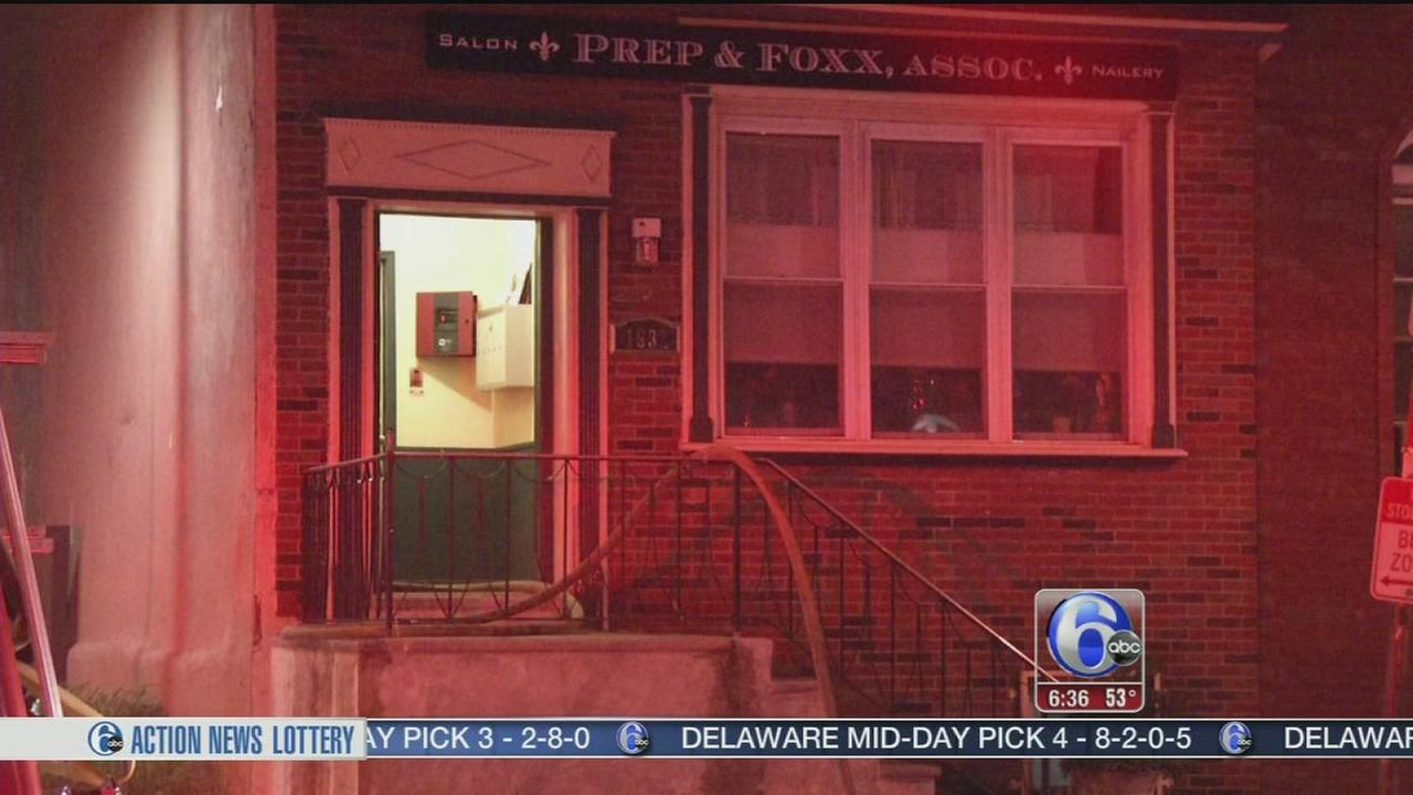 VIDEO: Smoke and flames damage apartment in South Philadelphia