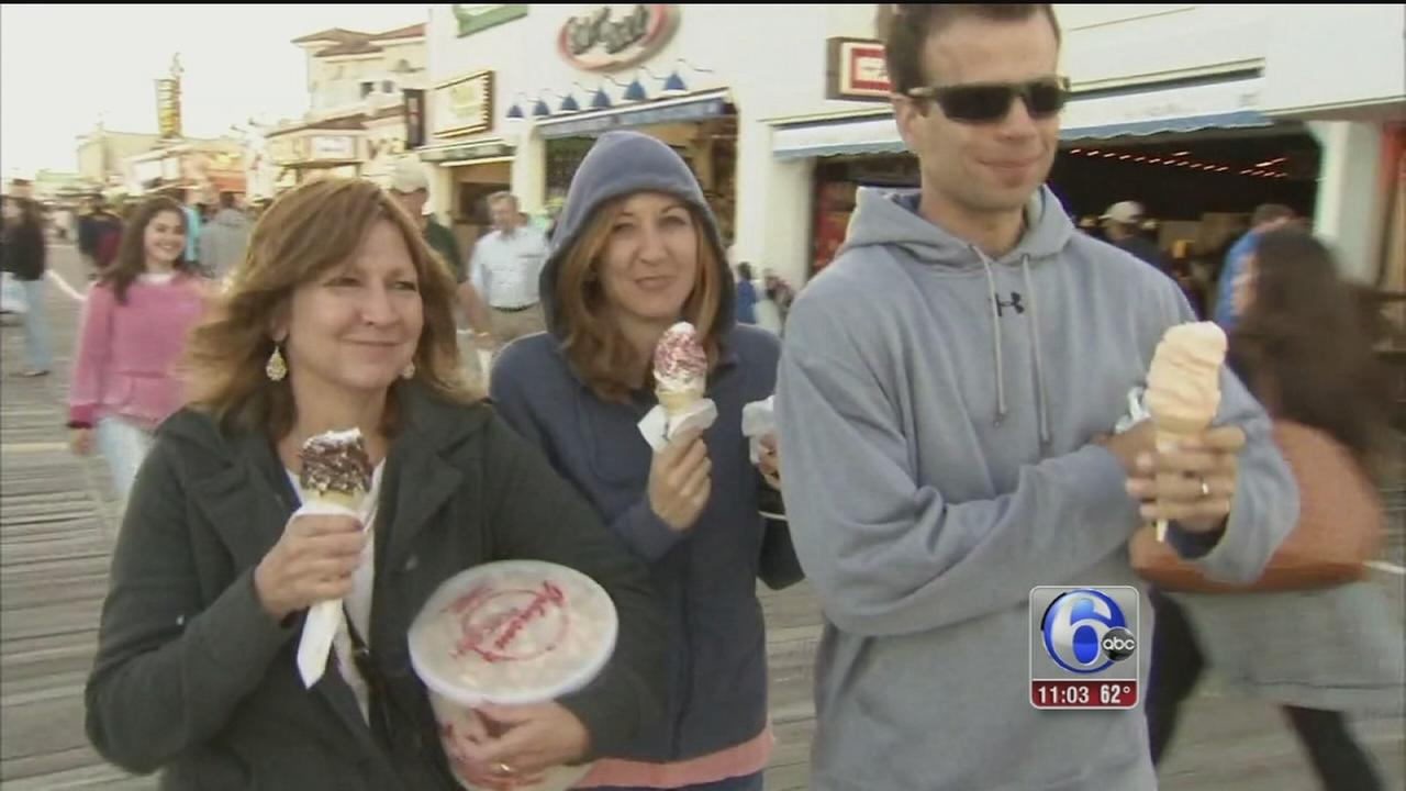 VIDEO: Memorial Day weekend in full swing at the shore