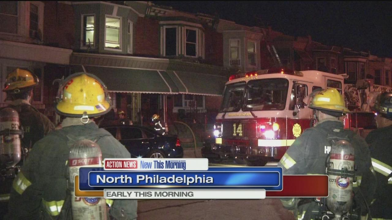 VIDEO: Fire breaks out in North Philadelphia