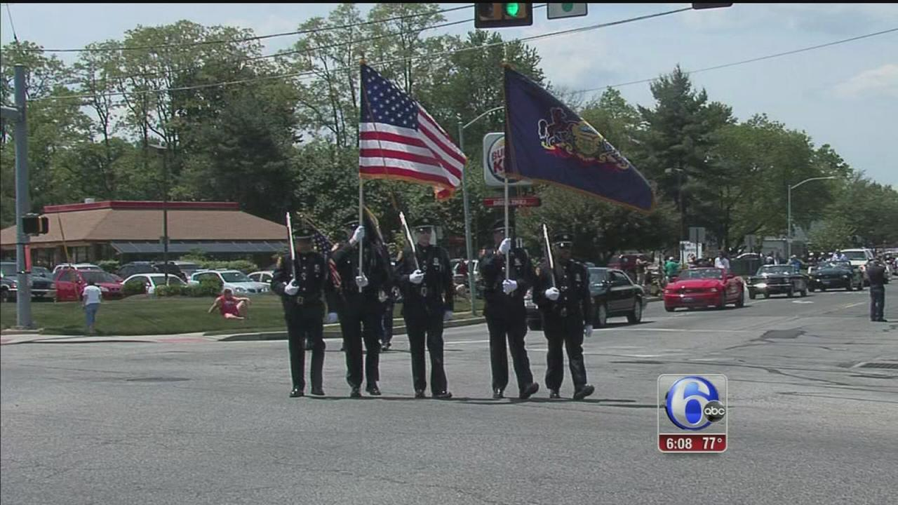 VIDEO: Fallen soldiers, veterans honored across the region
