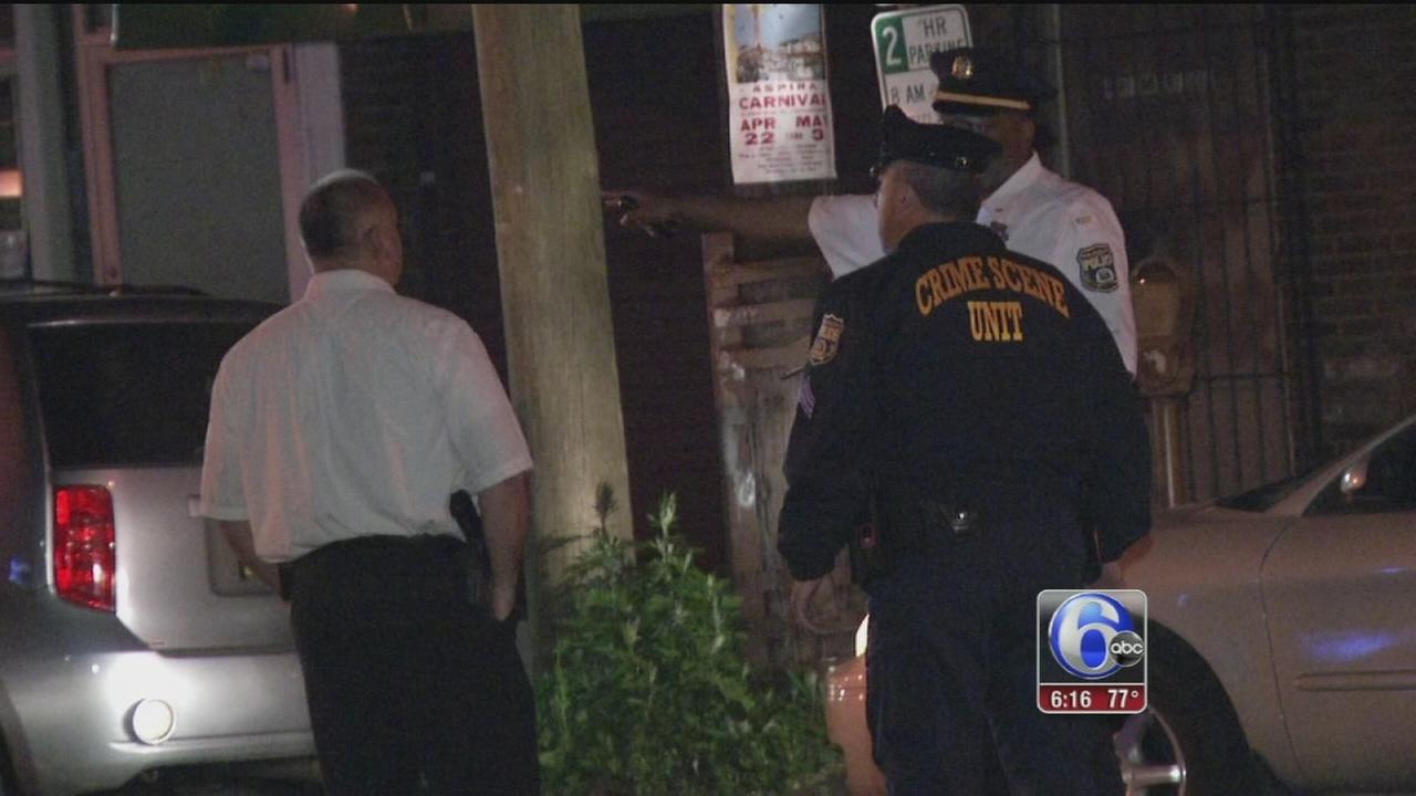 VIDEO: Police open fire on armed man in Olney