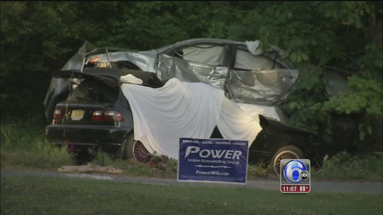 VIDEO: 2 adults killed, 2 children hurt in Millville crash