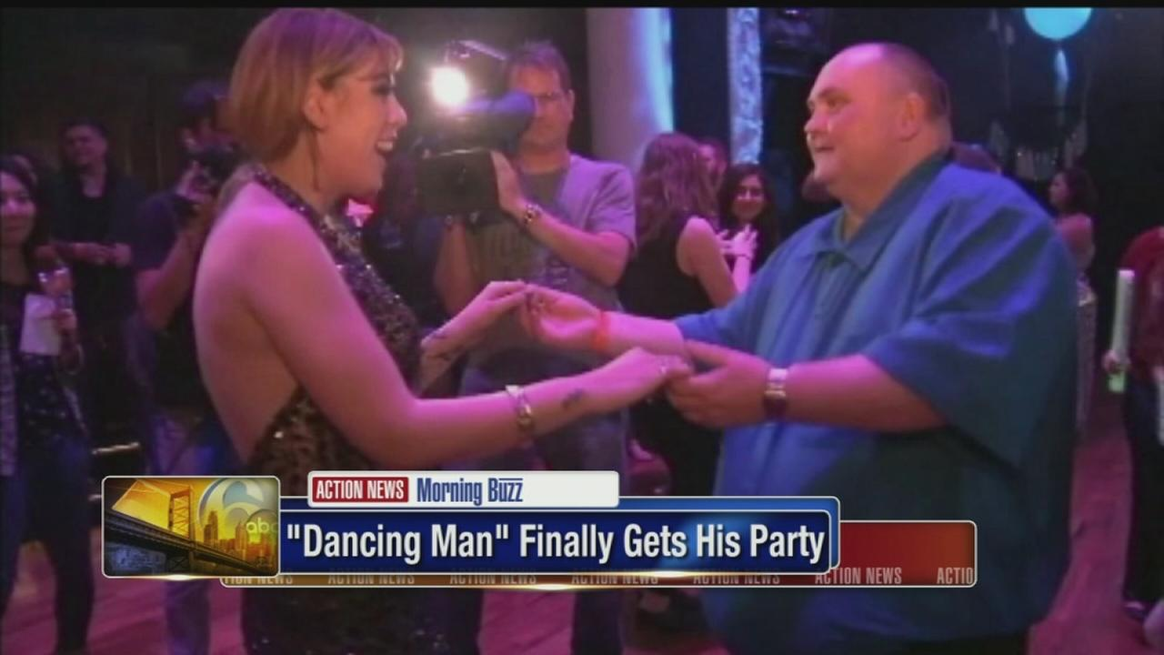VIDEO: Dancing man gets the last laugh