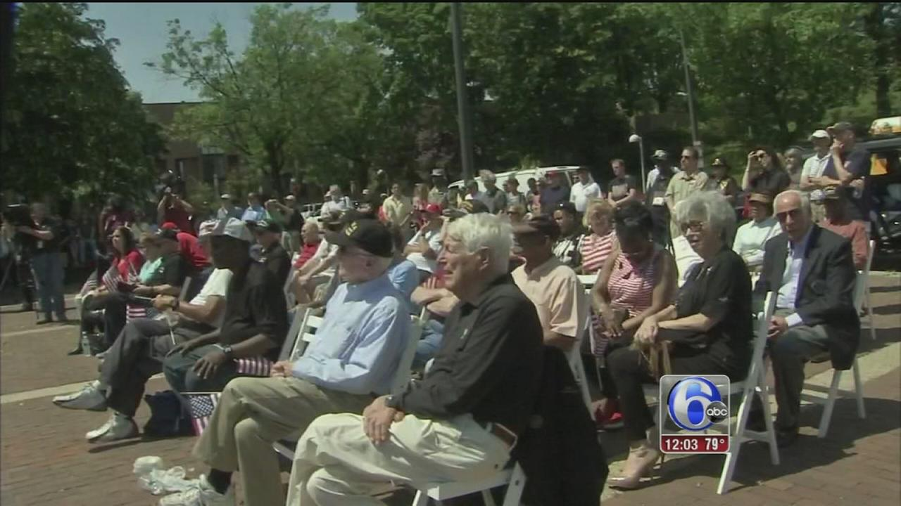 VIDEO: Nora Muchanic reports from Penns Landing on Memorial Day