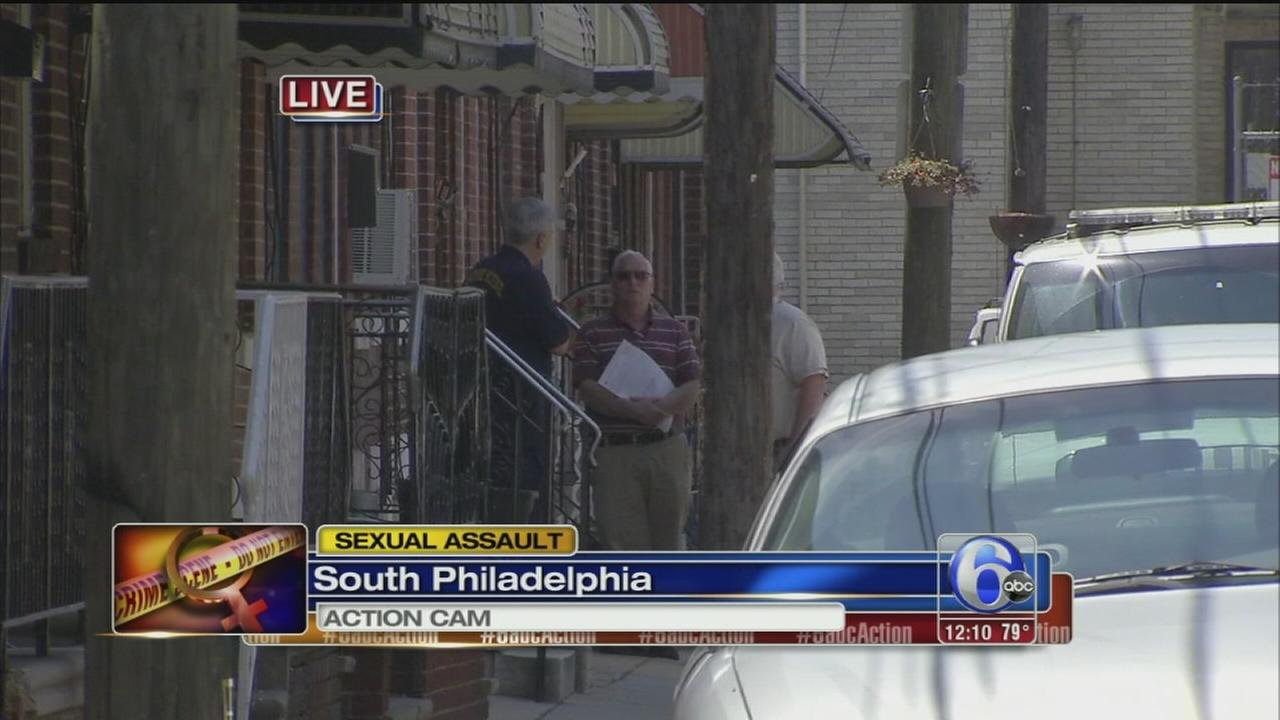 VIDEO: Woman sexually assaulted in S. Phila. home