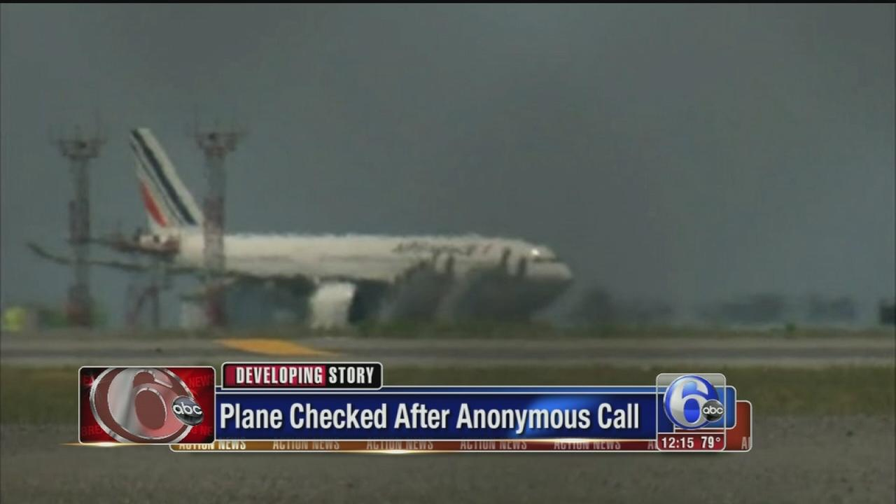 VIDEO: Air France flight escorted to JFK Airport after threat
