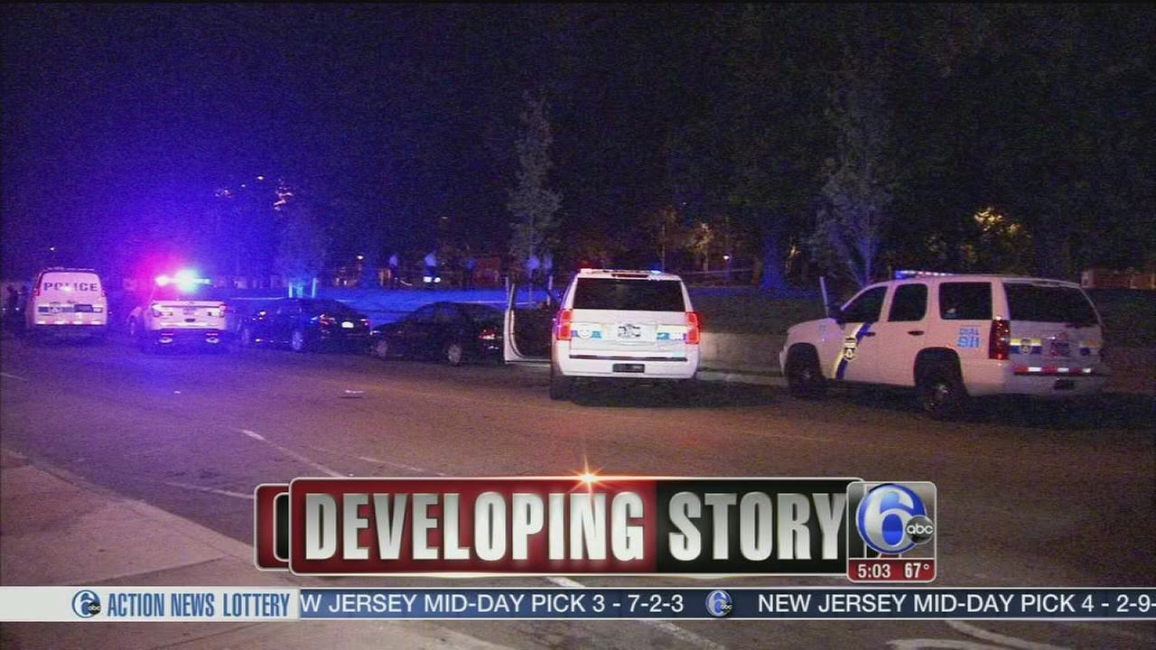 VIDEO: Man shot at SW Phila. rec center