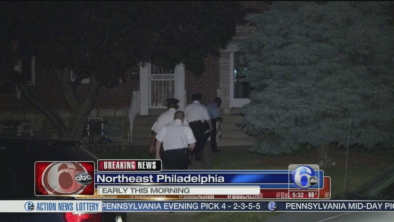 VIDEO: Home invasion in NE Phila.